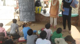 volunteer work in India- AVI