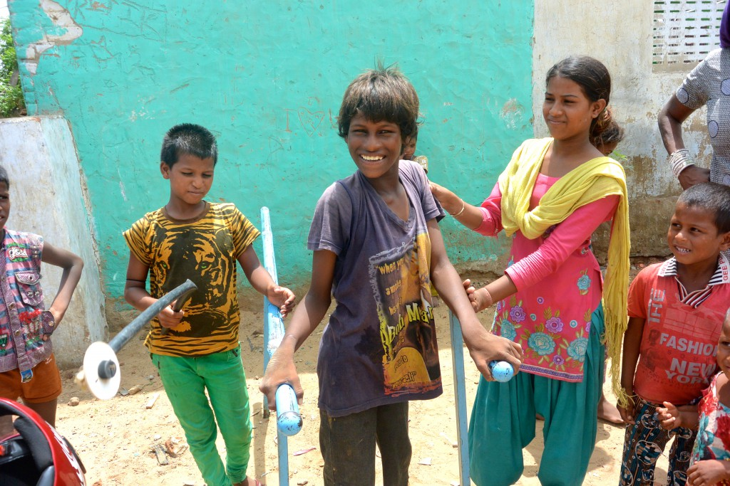volunteer for health care in India